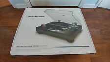 NEW Audio Technica AT-LP120BK-USB Direct-Drive Professional Turntable Black
