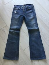 Authentic 7 For All Mankind Ladies Designer Jeans W27 L32 Approx UK 10 Fab!
