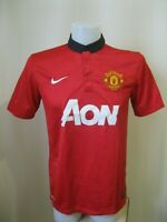 Manchester United 2013/2014 Home Sz M Nike shirt jersey maillot football soccer
