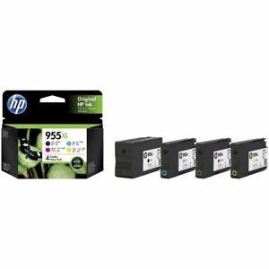 Genuine Original HP 955XL High Yield / Value Pack Ink Cartridges