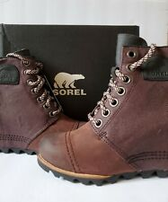 Sorel PDX WEDGE Boots Catail/ Massette-Quenouille, Size 10