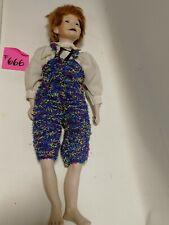 BESTZUSTAND Künstlerpuppe Puppe 60 cm groß
