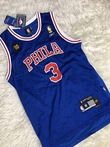 Reebok NBA Phila Inverson 3 Vintage Basketball Jersey - Size M