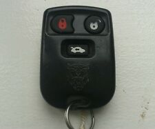 EXCELLENT TESTED JAGUAR S-TYPE 3 BUTTON  REMOTE LOCKING KEY FOB & NEW BATTERY