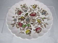 """Vintage Johnson Brothers """"Staffordshire Bouquet"""" ironstone Saucer Floral Replace"""