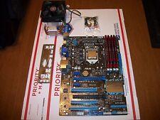 Intel Core i7 3770- ASUS P8Z77-V LX Motherboard- G.Skill Ripjaws 16gb DDR3-Combo