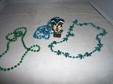 PIRATE MARDI GRAS BEADS GASPARILLA PARADE Mickey Pirate Necklace +