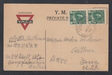 Canada 1918 WWI PETAWAWA CAMP Admiral Military Field Post Postcard
