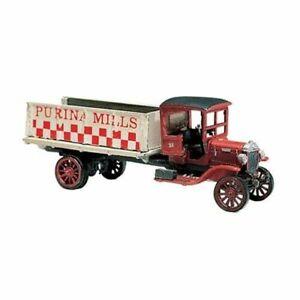 Woodland Scenics ~ HO Scale ~ Grain Vehicle Truck ~ 1914 Diamond T ~ D218