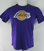 Los Angeles Lakers Youth Boys Fanatics Purple Short Sleeve T-Shirt NBA S M L XL