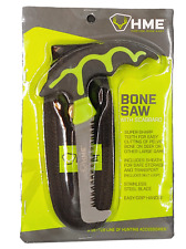 HME Fixed Stainless Steel Bone Saw w/Scabbard/Grip Handle Polymer Black BSWS