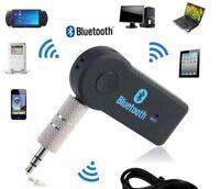 Receptor de Audio inalámbrico Bluetooth v3.0, Jack 3.5mm, manos libres coche.