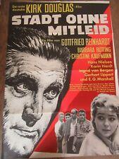 Filmposter Poster Stadt ohne Mitleid Kirk Douglas 1961