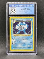 CGC 5.5 Poliwrath 1999 Base Set Pokemon Trading Card PSA BGS