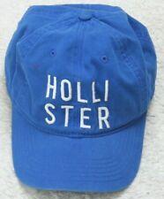 Hollister California Baseball Style Hat Adult Blue White Men Cap Snapback Cotton