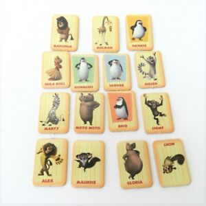 Madagascar Escape 2 Africa 15 Picture Cards Game Replacement Parts