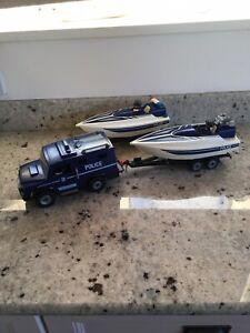 Playmobile Police Boat Bundle