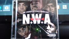 NWA N.W.A VERY BEST OF CD & DVD RARE 17 HITS 5 VIDEOS 6 INTERVIEWS DR DRE EAZY E