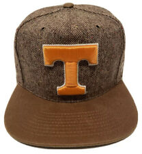 "Zephyr Ncaa Tennessee Volunteers ""Legend"" 5 Panel Flat Bill Strap-back Hat Nwt"