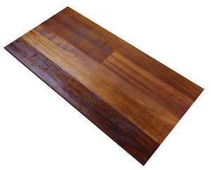 Bespoke Reclaimed Wood Table Tops - Iroko Hardwood (school science lab )