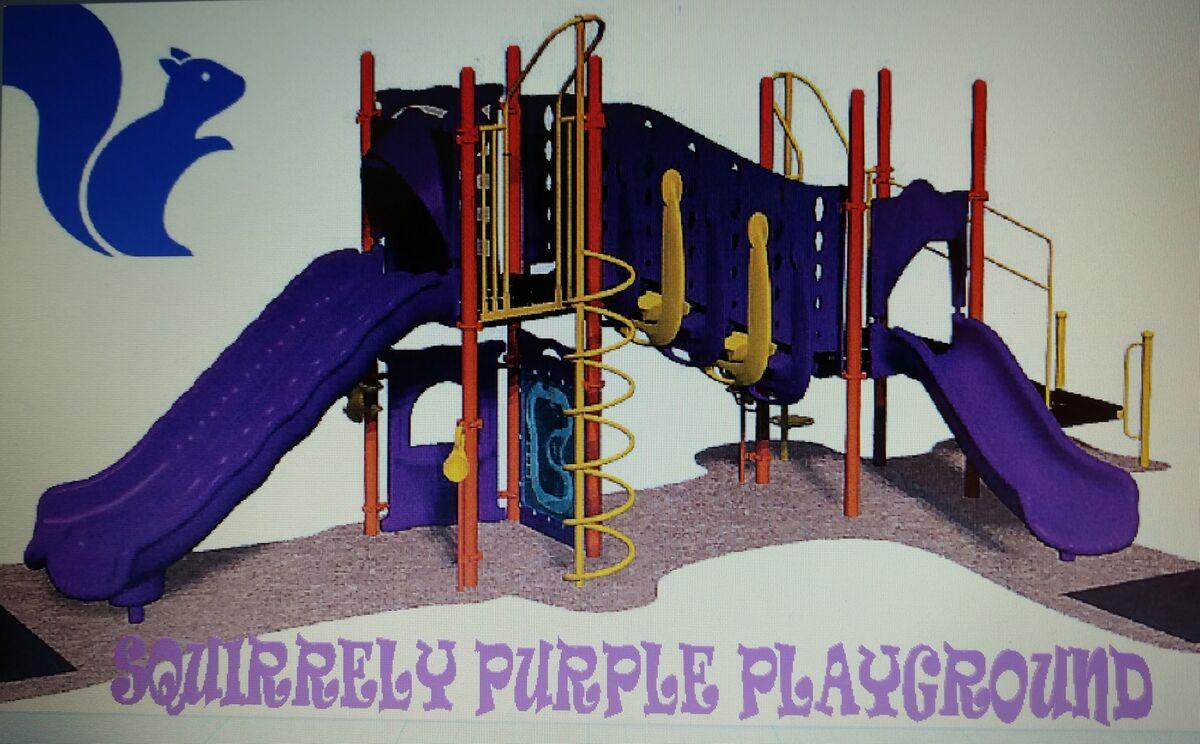 Squirrely Purple Playground