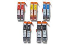 LOT DE 10 CARTOUCHE ENCRE noir couleur pour HP 364 XL Photosmart B110 B110a