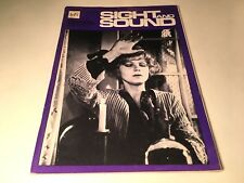 Sight And Sound Vintage Cinema Movie Magazine Summer 1976 Taxi Driver Bowie 70's
