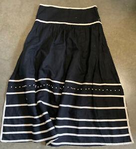 Flannel Papillion Skirt Size 1 Designer