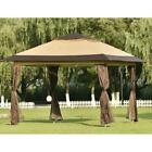 Gazebo Tent w/ Mosquito Netting Outdoor Canopy Shelter For Patio Wedding Party