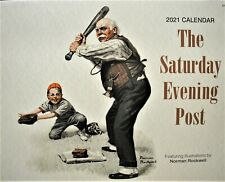 New 2021 Norman Rockwell Saturday Evening Post Calendar