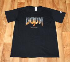 Doom 3 BFG Edition Rare Promo T-Shirt Size L PS3 Xbox 360 Playstation 3