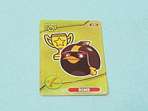 Angry Birds Go!  Trading Cards Limited Edition Bomb Limitierte Auflage