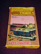 1/72 HO - ATLANTIC Italy : TIGER 1 German Tank  - Soft Plastic Model Kit #4606