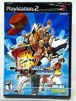 Fatal Fury Battle Archives Volume 2 - PS2 - Brand New | Factory Sealed
