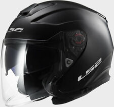 CASCO JET LS2 OF521 INFINITY MATT BLACK TG 3XL