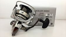 DAIWA Exceler 3000H Spinning Reel 3000 H & Chemical Light