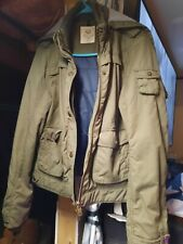 American Eagle Outfitters Denim Green Jacket Size Large