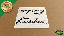 Kuwahara SCRIPT Freestyle BMX 1985 & Later Handlebar/Seat Post Decal (Black)