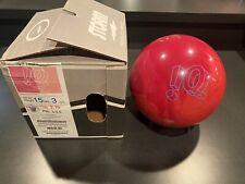 Storm IQ Tour Pink Overseas Bowling Ball 15lb NIB