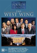The West Wing : Season 4 (2004, 6-Disc Set) New, Ex-Retail Stock, Genuine D59