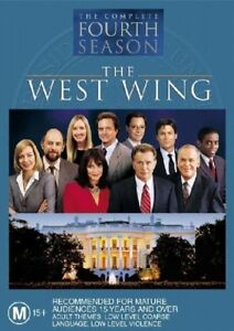 The West Wing : Season 4 (DVD, 2004, 6-Disc Set)_Ex- rental I have a case and ar