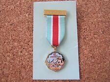 Tokyo Disney Sea Trading Pin 11th Anniversary Medal Brooch Mickey Mouse New Rare