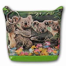 Universal Purse Bag Cute Koala Bear Animal Family 3D Lenticular #SSP-494-PAVIA#