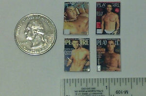 Dollhouse Miniature Magazines FOR HER 1:12 one inch scale H153 Dollys Gallery