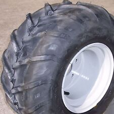 22x11.00-10 TIRE RIM WHEEL R-1 lug for Zero Turn Mower or Golf Cart 4-Hole Left