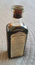 Antique Medicine Bottle Greens August Flower Elixer Snake Oil