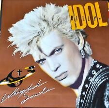 Billy Idol, Whiplash, Original Poster