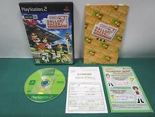 PlayStation2 - Gallop Racer Lucky 7 - postcard & leaflet. PS2. JAPAN GAME. 40363
