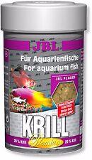 JBL Premium Krill Flakes 100ml Protein Rich Fish Flake Food