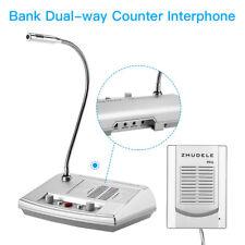 Dual-Way Window Counter Intercom Interphone Speaker ZDL-9906 2W For Bank Office